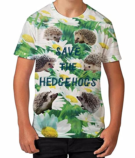 Bang Tidy Clothing Kids Graphic T Shirt Boys Top Save The Hedgehogs Youth Tee Shirt