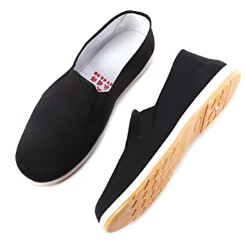 Martial Arts Traditional Kung Fu Slippers Non Slip Chinese Cotton  Tai-Chi/Kung Fu Shoes Slippers Leisure Wear
