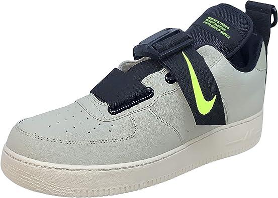 Ten confianza Incidente, evento Agarrar  Nike Air Force 1 Zapatillas deportivas unisex, Niebla de abeto/Negro/Volt,  9 US: Amazon.com.mx: Ropa, Zapatos y Accesorios