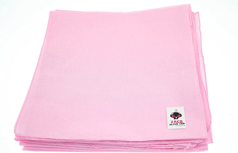 Neckerchief 100/% Cotton Zacs Alter Ego Plain Bandana