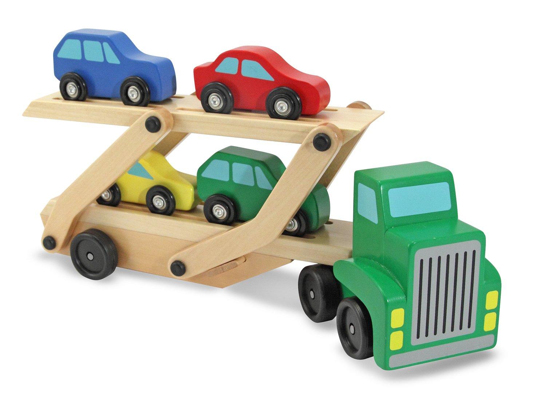 Melissa and Doug Gioco in legno Camion trasporto auto