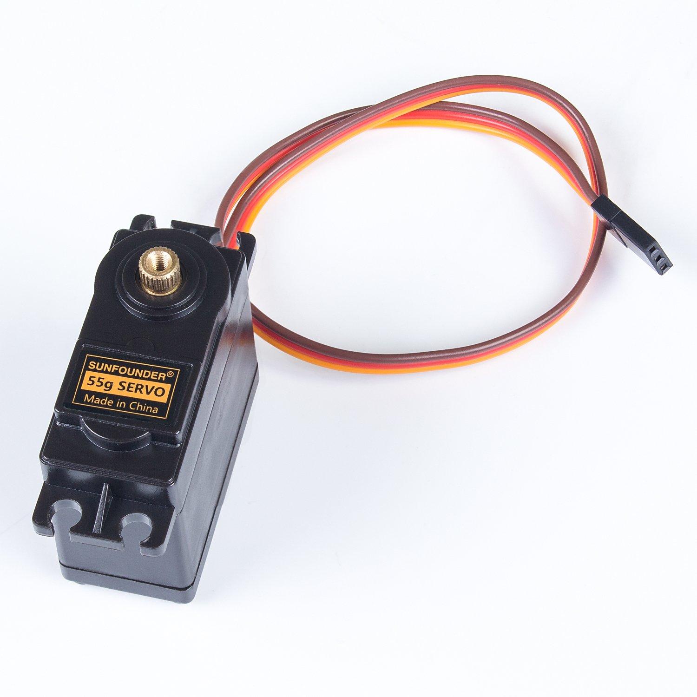 Sunfounder metal gear digital rc servo motor high torque for Servo motor high torque