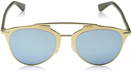 Christian Dior DIORREFLECTED 3J XX8, Gafas de Sol para Mujer, Rosa (Rosegold Khaki/Azure Grey Speckled), 52: Amazon.es: Ropa y accesorios