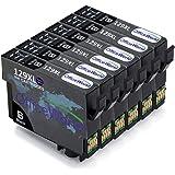 OfficeWorld Kompatible Patronen Ersatz für Epson T1291 Schwarz Tintenpatronen Kompatibel für Epson Stylus SX420W SX425W SX445W SX525WD SX535WD SX620FW & Office B42WD BX305F BX305FW BX320FW BX525WD BX535WD BX625FWD BX630FW BX635FWD BX925FWD BX935FW WorkForce WF-7015 WF-7515 WF-7525
