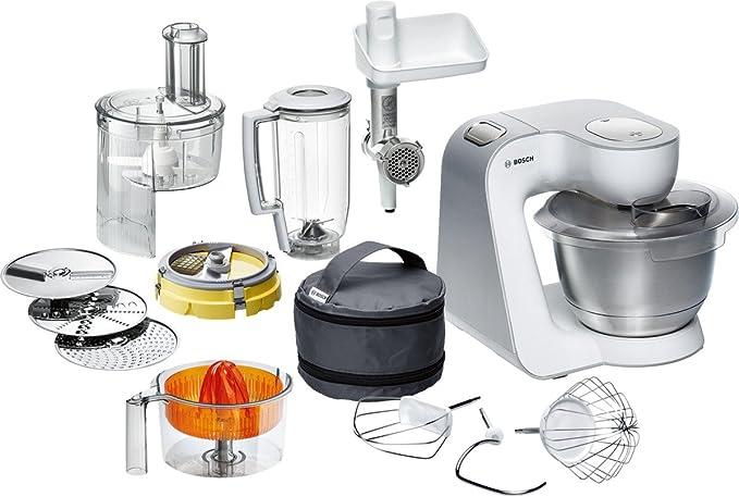 Bosch Styline Robot de cocina con accesorios, 450 W, 3.9 litros, 7 ...