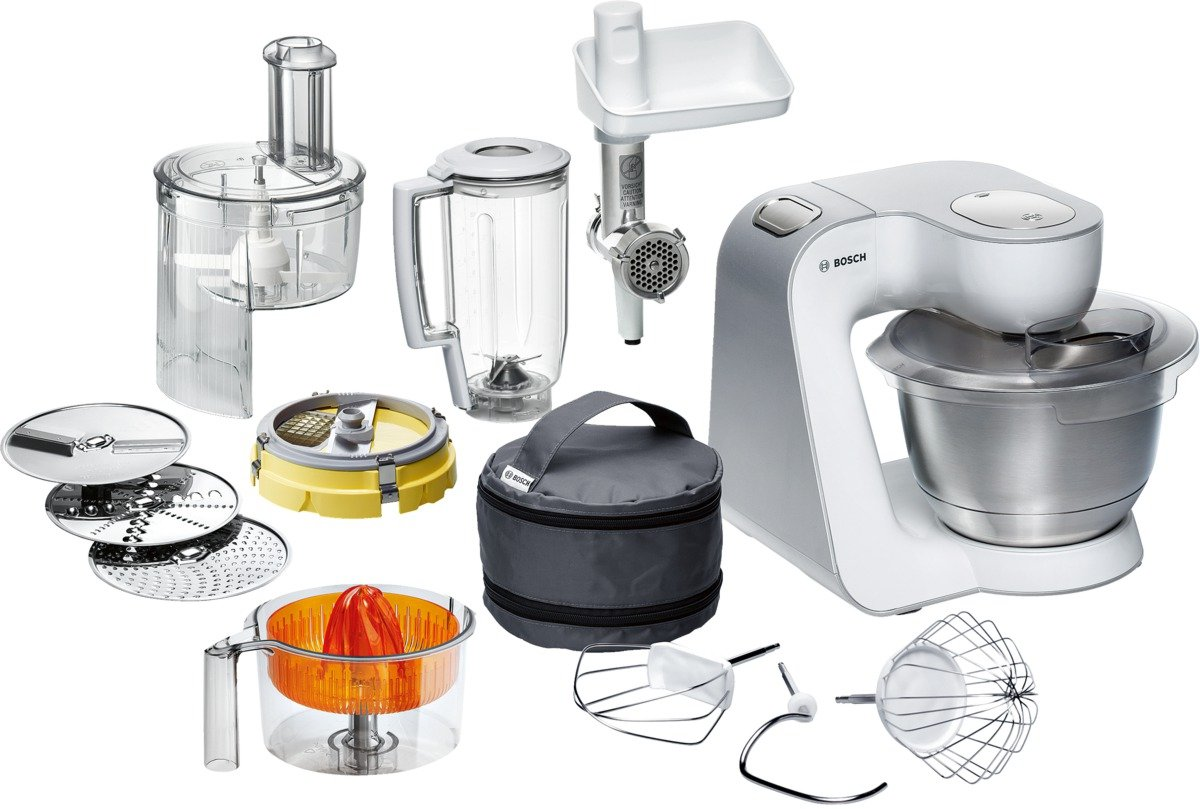 Bosch MUM54251 17 Cups Food Processor with MultiMotionDrive, White by Bosch