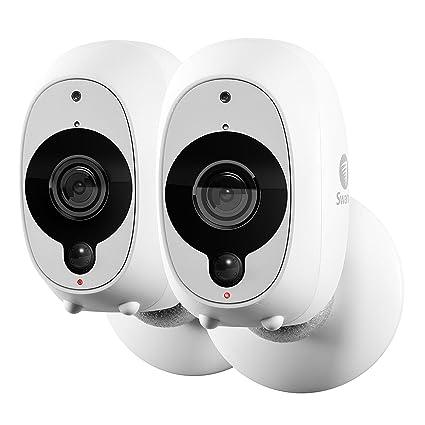 Swann Cámara de Seguridad Inteligente Inalámbrica 1080p Full HD con Sensor Térmico y de Movimiento PIR