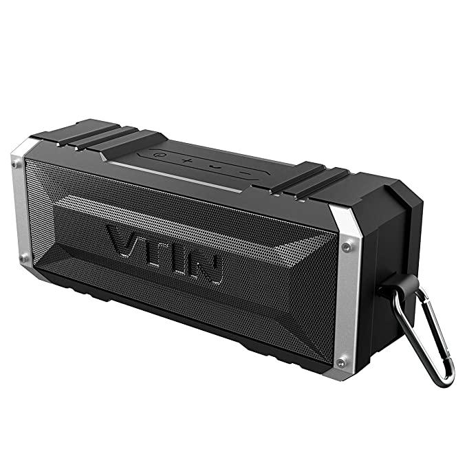 651150e68f9 Vtin 20W Bluetooth Speaker, Shockproof Outdoor Speaker with 30H Long  Playtime, Loud Stereo Sound