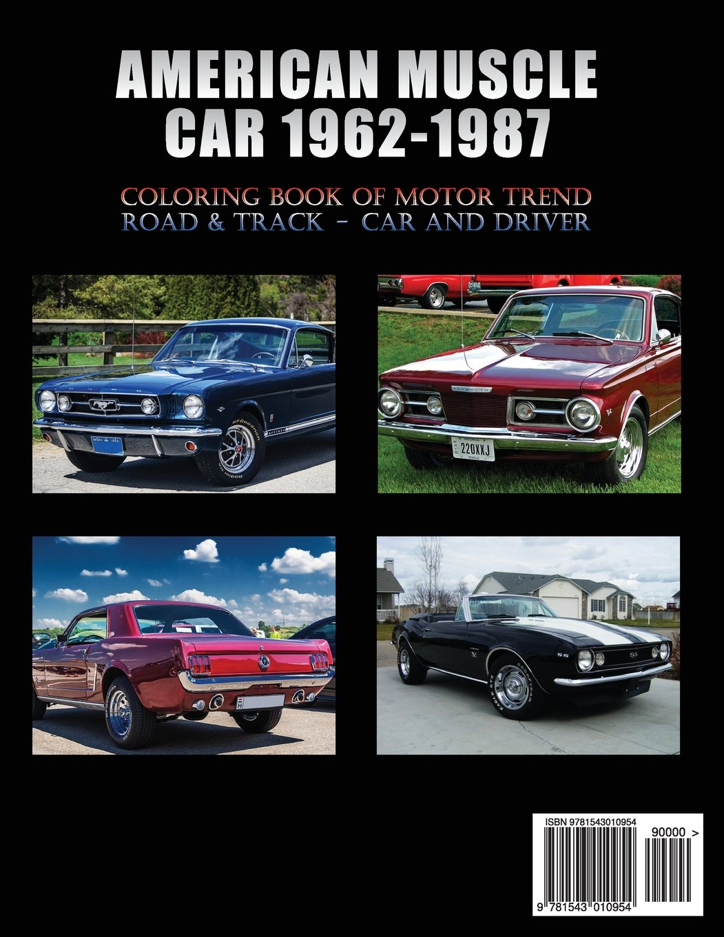Amazon American Muscle Car 1962 1987 Automobile Lovers Collection Grayscale Coloring Books Vol 2 Book Of Luxury High Performance Classic