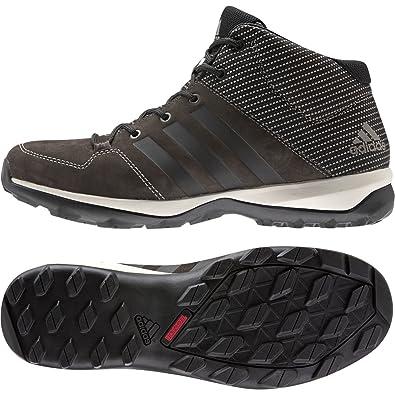 huge selection of 865ba 055fb adidas Mens Daroga Plus Mid Lea Hiking Shoe,BrownBlackSimple Brown,