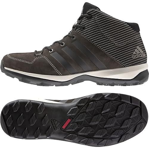 separation shoes 562f3 703e1 adidas Daroga Plus-Mid Lea Wanderschuh, SchwarzGranitNacht Metallic, Uns  8,5 Amazon.de Schuhe  Handtaschen