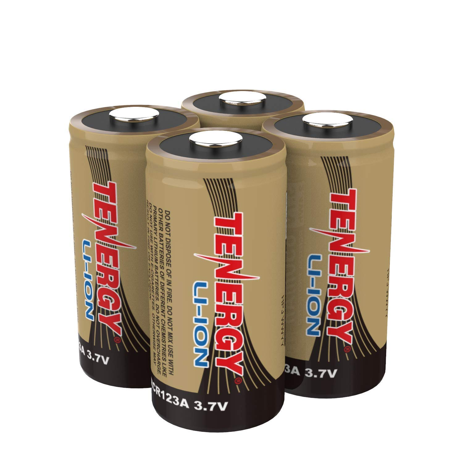 Arlo Certified: Tenergy 3.7V Li-ion Rechargeable Battery for Arlo Security Cameras