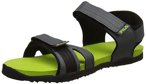 3f7e9e7af Fila Men s Caller Gry LIM Pnch Sandals-6 UK India (40 EU) (11006570 ...