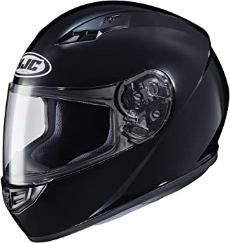 HJC CS-R3 Solid Helmet Lg Black