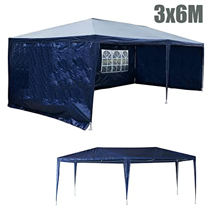 GJR-Zhengyangpeng Nueva 3x6 M Sombra Exterior Canopy Tienda Plegable Impermeable Sol Refugio Gazebo Fiesta Carpa Tienda de Picnic Tienda de campaña Pérgola Toldo Toldo, Toldo: Amazon.es: Deportes y aire libre
