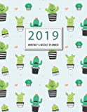 2019 Monthly and Weekly Planner: 24 Months 53 Weeks Appointment Calendar Planner Organizer Journal