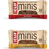 CLIF BARS Minis with 1 Shot of Espresso - Energy Bars Variety Pack - Cappuccino, Espresso Flavors - Coffee Collection - 65 mg