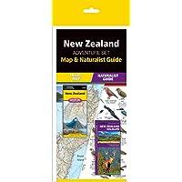 New Zealand Adventure Set: Map & Naturalist Guide