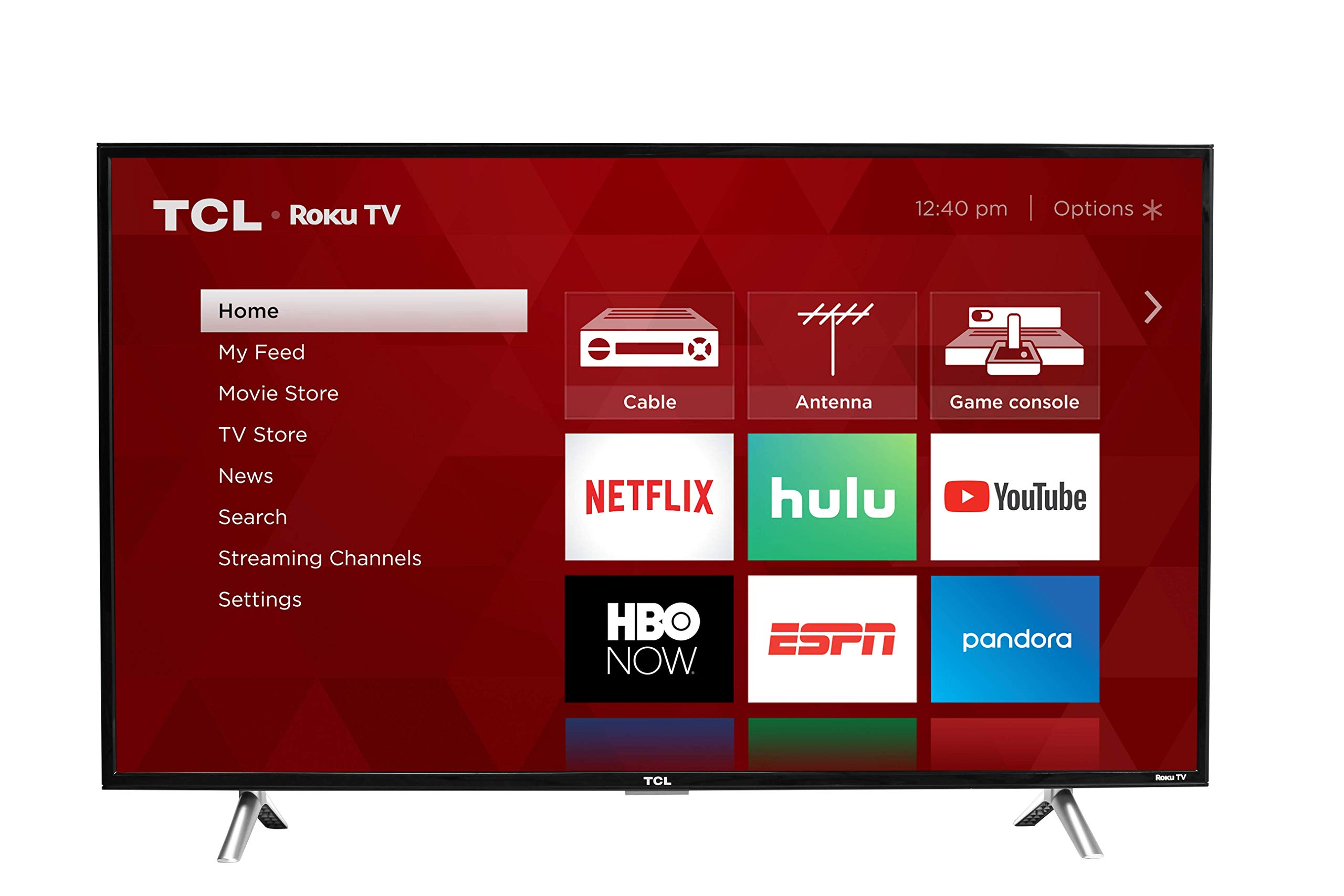 TCL 28S305 28-Inch 720p Roku Smart LED TV (2017 Model) by TCL