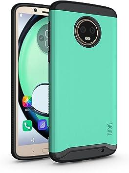 TUDIA Motorola Moto G6 Plus Funda, Caja Protectora Merge Tarea ...