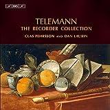 テレマン:リコーダー音楽大集成 (Telemann : The Recorder Collection / Clas Pehrsson , Dan Laurin) (6CD)