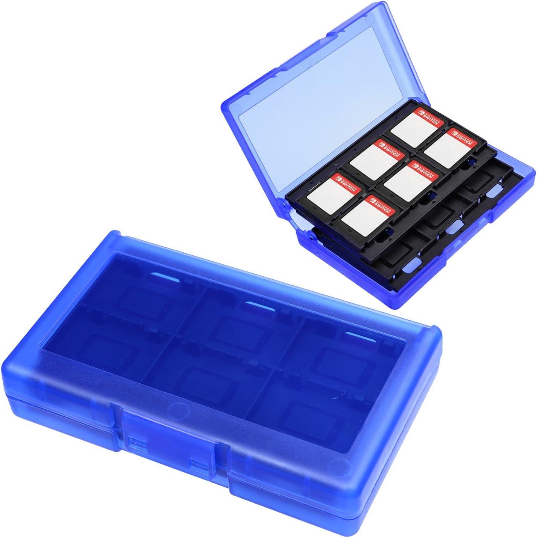 AKWOX 24-en-1 Juego Funda para Nintendo Switch Lite Caja de Cartuchos (Negro): Amazon.es: Electrónica