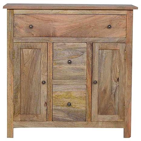 Artisan mobili porte cassetti credenza, legno, finitura in rovere ...