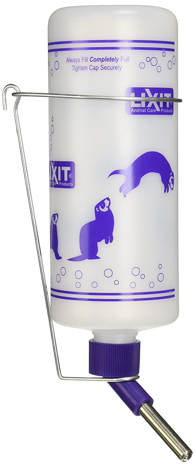 B0002Z15TI Lixit 32oz Water Bottles for Ferrets and Rabbits with Heavy Duty Mount. 71Hzk2P2T0L