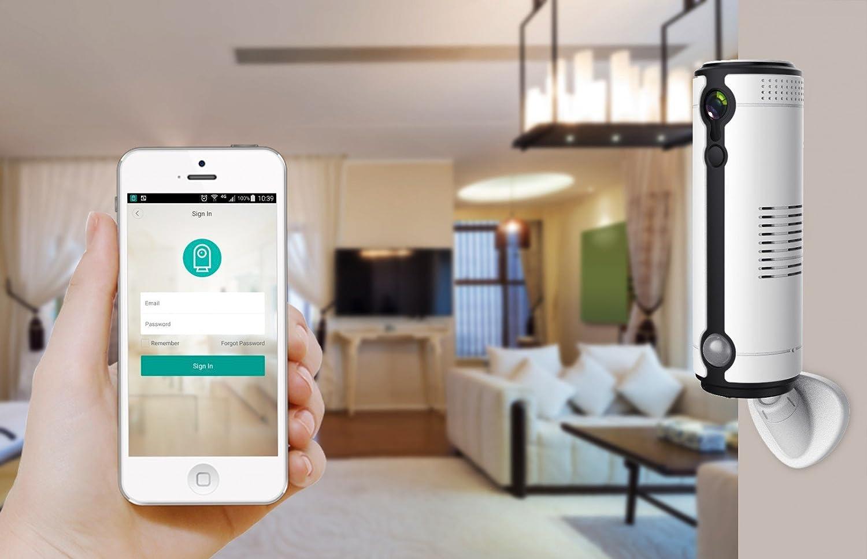3 G GSM batería de cámara de vigilancia IP con Wifi, W-LAN, Cloud almacenamiento en antirrobo y acceso por teléfono móvil alta resolución HD Vídeo 1 Mega ...