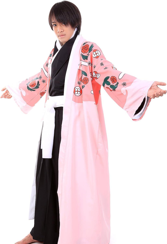 Bleach Cosplay Costume Gotei 13 Squad 8th Division Captain Shunsui Kyouraku