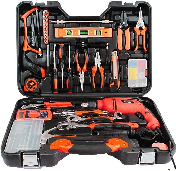 ZXZ-GO Tool Box Basic Kit de herramientas para el hogar con