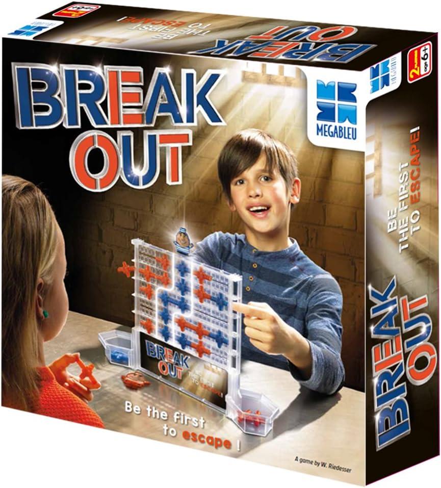 Megableu 678618 Break out - Juego de Mesa: Amazon.es: Juguetes y juegos