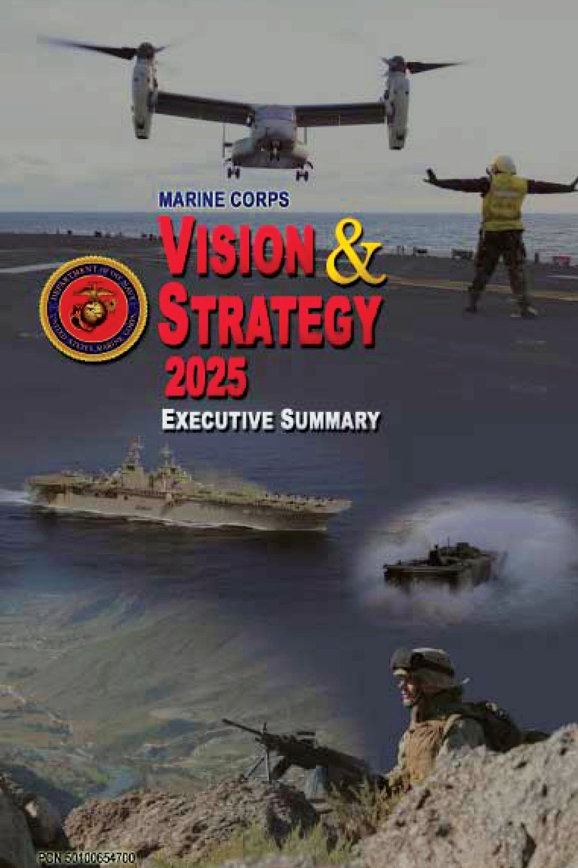 Marine Corps Vision and Strategy 2025 Executive Summary PDF