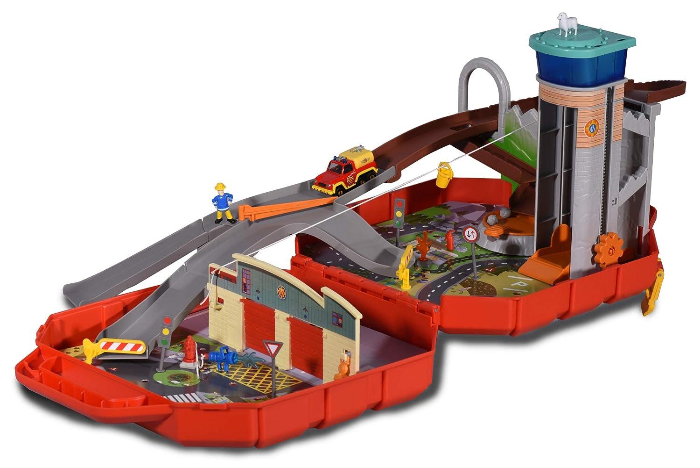Feuerwache Spielzeug Bestseller - Ponty Pandy Feuerwehrmann Sam Koffer-Spielset