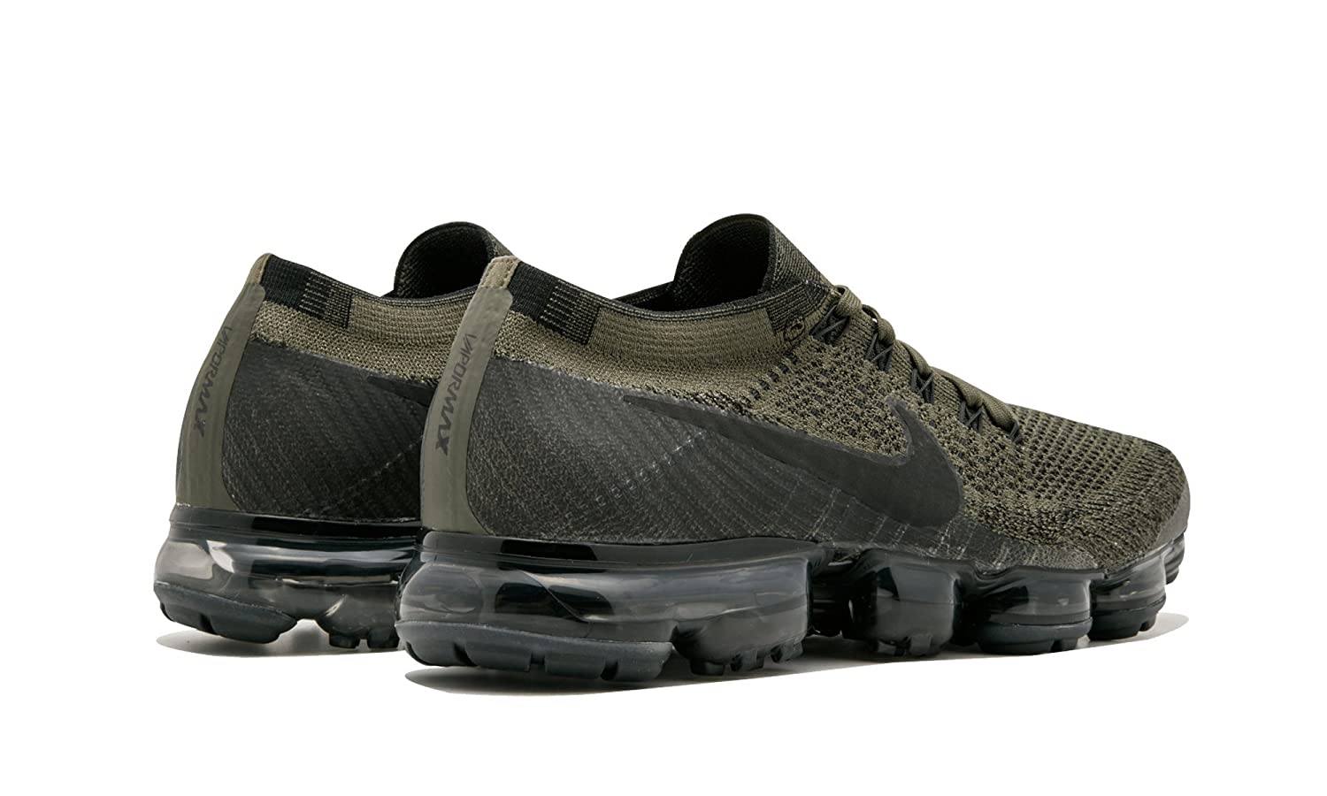 f01290d509cda ... pretty cheap Mens Nike Air VaporMax Flyknit Running Shoes (Cargo  KhakiBlackMed Olive Dark Grey) ...