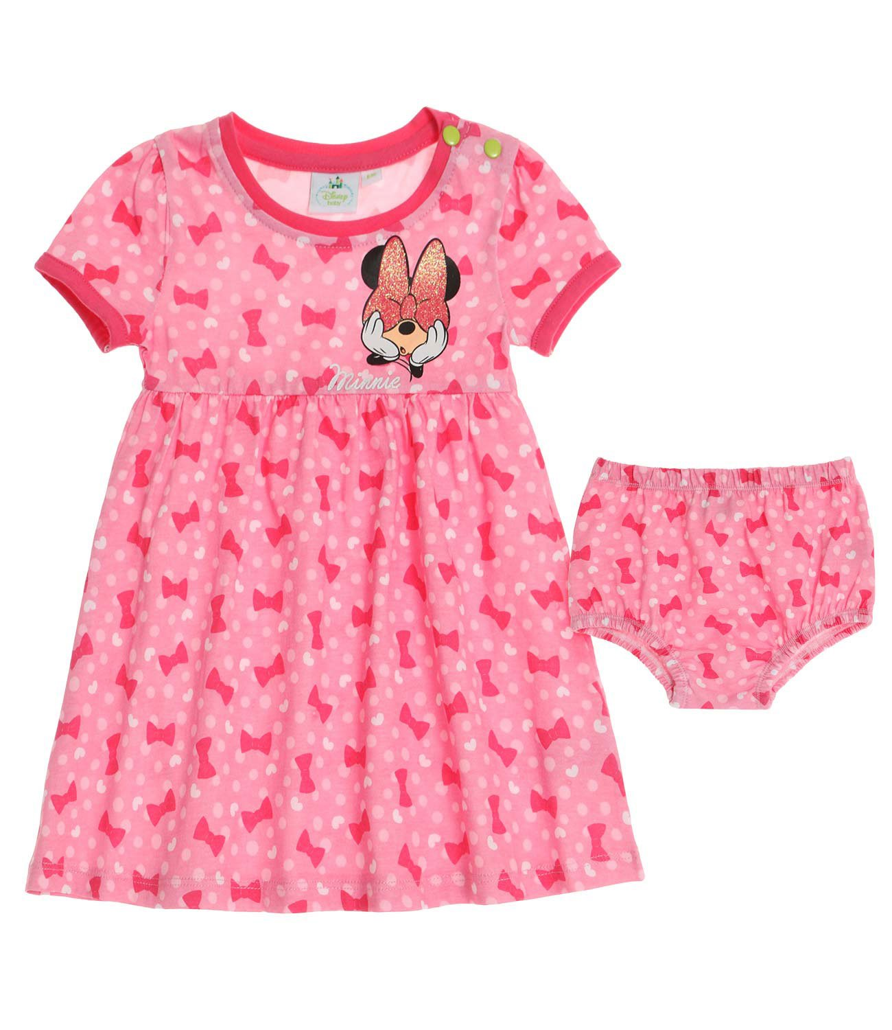 Disney Minnie Babies Dress & Brief 2016 Collection - Fuchsia