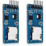 kwmobile 2x Micro SD Card Reader Module 5V Card Adapter for Arduino and other Microcontrollers