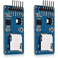 kwmobile 2 Módulos de Tarjeta Micro SD para Arduino y Otros microcontroladores - Módulo Lector microSD para Circuito…