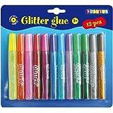 Playbox Glitter Glue (12 Pieces)