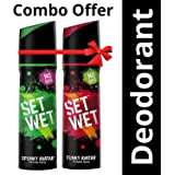 Set Wet Perfume, 120ml (Spunky and Funky Avatar, Pack of 2)