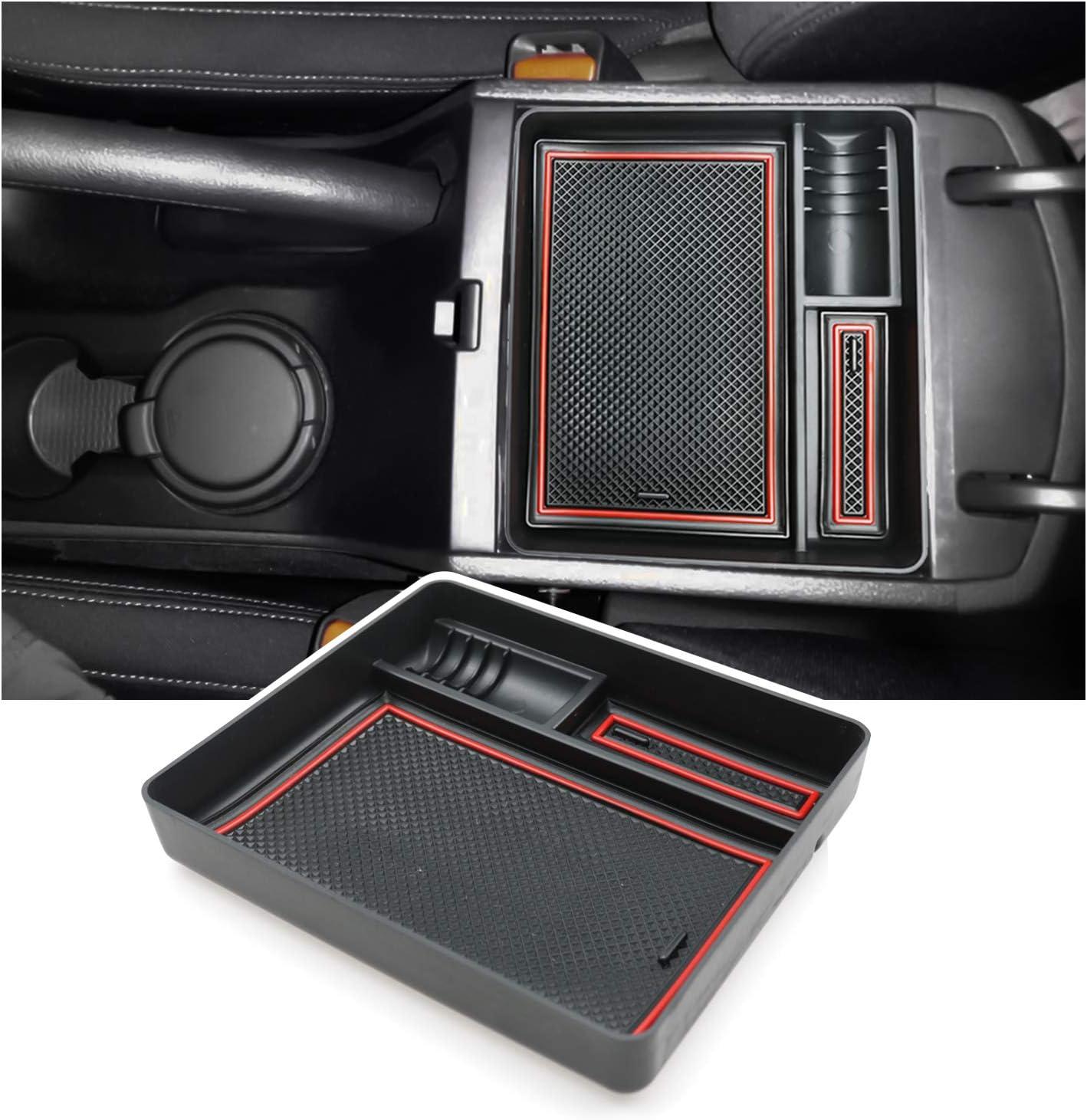 Ruiya Für Tucson Mittelkonsole Aufbewahrungsbox Armlehne Organizer Tray Tablett Auto Zubehör Manuelle Bremsversion Auto
