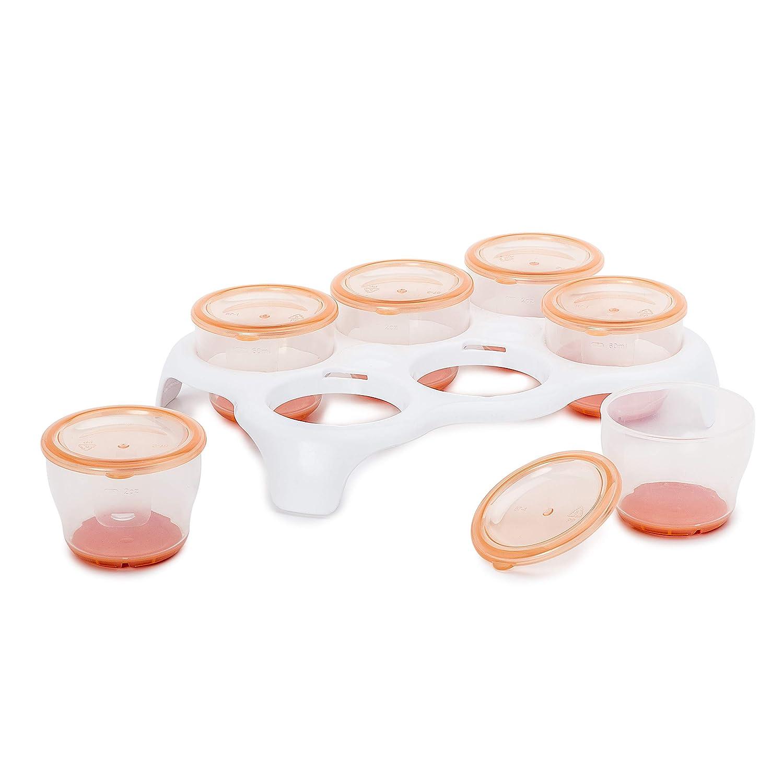 Vasos para congelador extraíble con bandeja: Amazon.es: Bebé