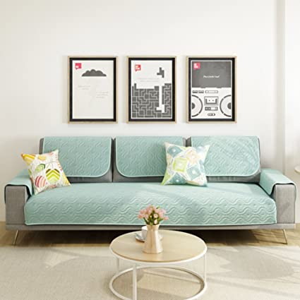 Bon Cotton Sofa Covers,Couch Slipcovers,Sectional Sofa Throw Cover Sets  Anti Slip Cushion