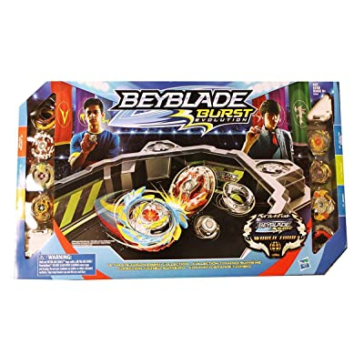 Hasbro Beyblade Burst Evolution Ultimate Tournament Collection Tops & Beystadium: Toys & Games