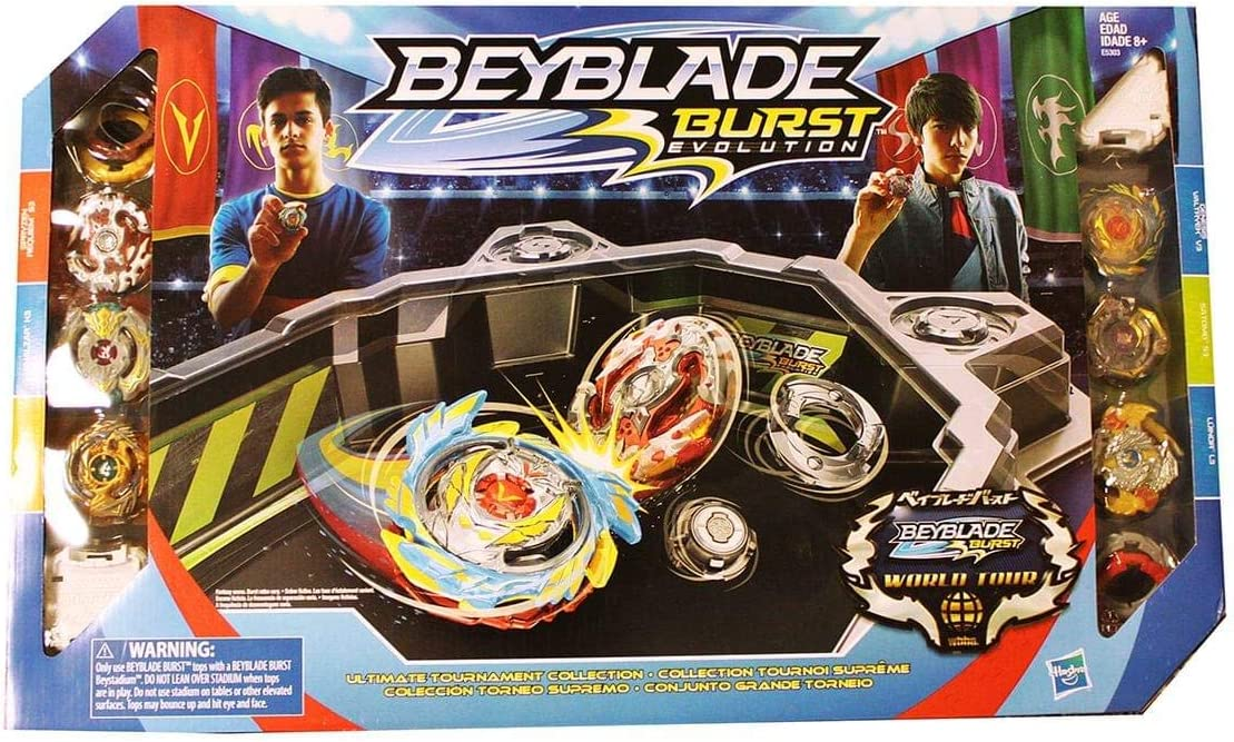 Hasbro Beyblade Burst Evolution Ultimate Tournament Collection ...