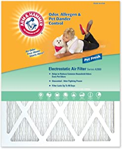 DuPont Arm & Hammer Pet Fresh Air Filter- 4 Pack - 20 x 30 x 1 inches
