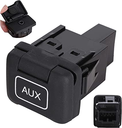Auxiliary Input Jack For HONDA ACCORD AUX SWITCH AUXILIARY PLUG 2008-2011 MODELS