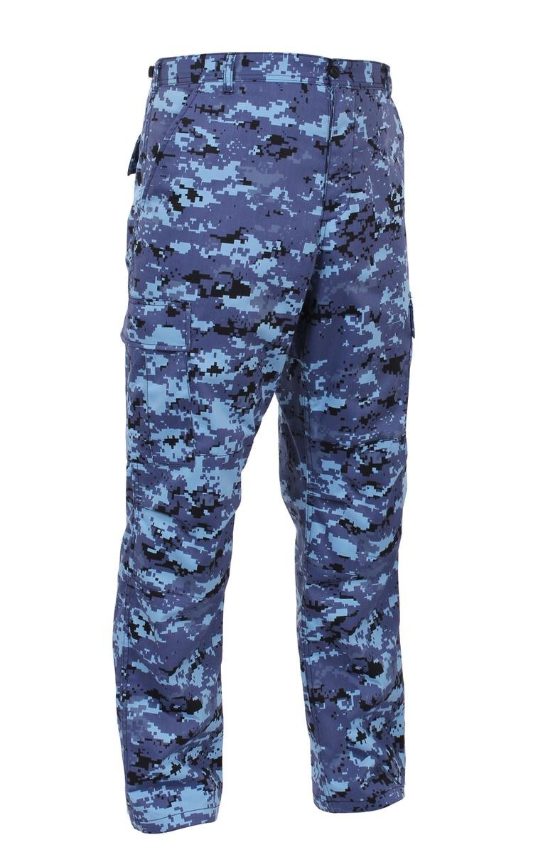 Rothco Bdu Pant, Sky Blue Digital, X-Large 613902996274