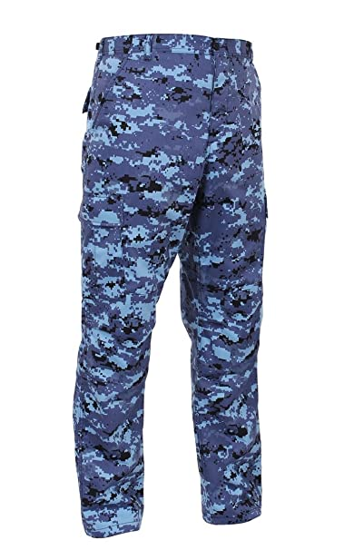 miglior servizio a4301 adf9a Rothco - Pantaloni - Uomo, Uomo, Bleu - SkyBlue Digital Camo ...