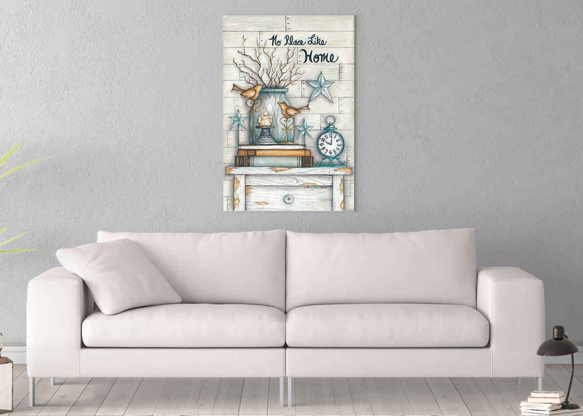 Amazon.com: No Place Like Home Printed on 12x18 Canvas Wall ...